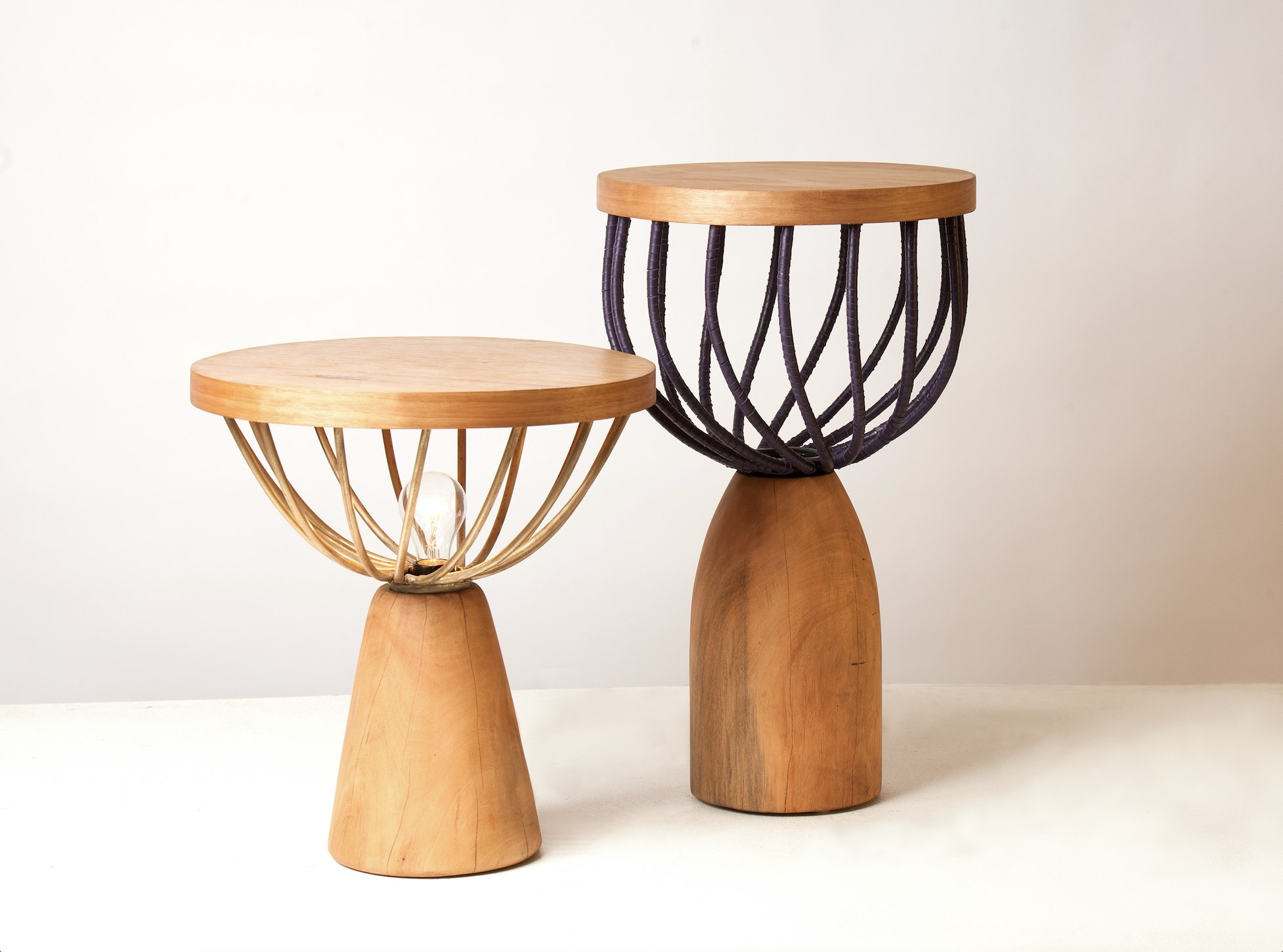 Studio Lani tables on display
