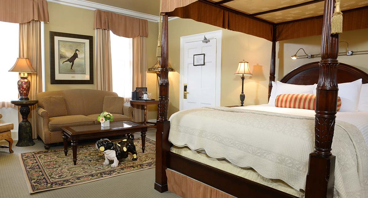 The Charles Hotel deluxe suite
